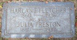 Julia <i>Preston</i> Fletcher