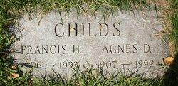 Agnes D Childs