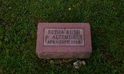 Betha Ruth Altemus