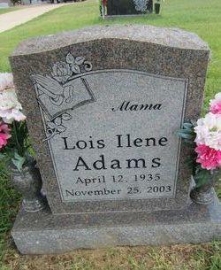 Lois Ilene <i>Hatfield</i> Adams