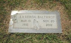 Catherine LaVerda <i>Lamb</i> Balthrop