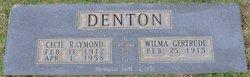 Cecil Raymond Denton