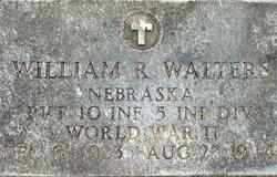 Pvt William R Walters