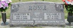 Dorothy Marie <i>Davis</i> Rowe