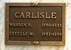 Warren P Carlisle