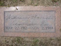 Dr William Harrell Alexander, Sr