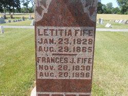 Letitia <i>Harsha</i> Fife