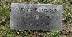 Mary Anne Hardison
