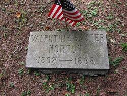 Valentine Baxter Horton