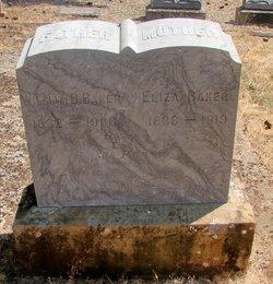 Eliza <i>Etheridge</i> Baker