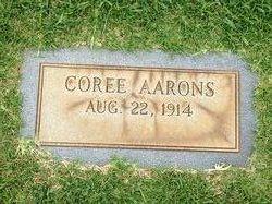 Coree Aarons