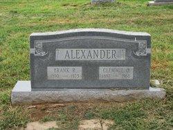 Clemmie Ola <i>Spencer</i> Alexander
