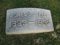 Agnes B Stelle