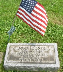 PFC John Conte