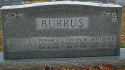 Lillian M <i>Warmbrodt</i> Burrus