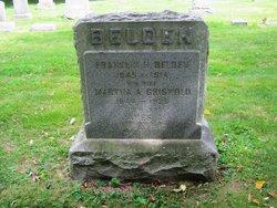 Martha Amelia <i>Griswold</i> Belden
