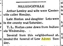 Lew Allen Adams