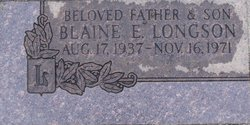 Blaine E. Longson