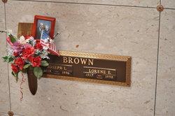 Lorene Elizabeth <i>Williams</i> Brown