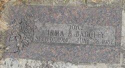 Irma B Badgley