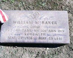Pvt William M. Bill Baker