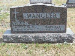 Mary Eva <i>Gross</i> Wangler