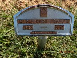 Margaret P Peggy <i>Poppy</i> Baker