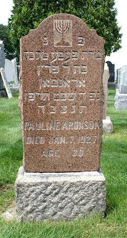 Pauline <i>Winitsky</i> Aronson