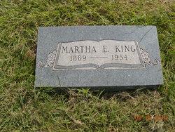 Martha Euretta Mattie <i>Clark</i> King