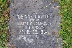 Corinne <i>Lawton</i> Jordan
