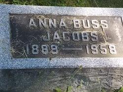 Anna <i>Buss</i> Jacobs