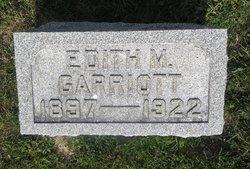 Edith M Garriott