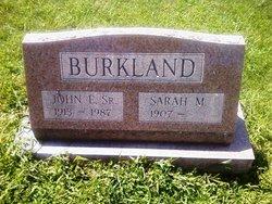 John E Burkland, Sr
