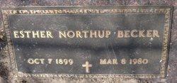 Esther <i>Northup</i> Becker