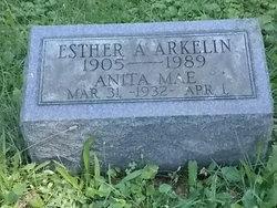 Esther A. <i>Rintamaki</i> Arkelin