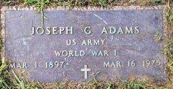 Joseph G Adams