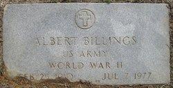 Albert M Billings