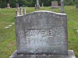 Ava M <i>Hill</i> Ayer