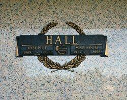 Joseph F Hall