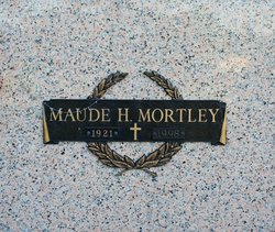 Maude H Mortley
