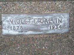 Violet Estella <i>Leaton</i> Callin