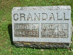 Nancy Ann <i>Burr</i> Crandall