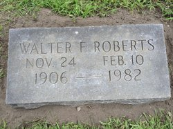 Walter Frederick Roberts, Sr