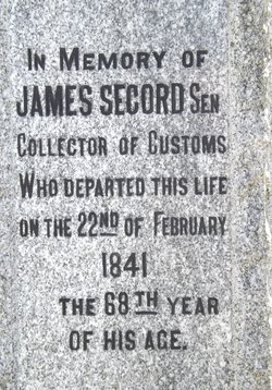 Sgt James Secord