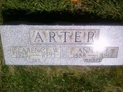 Clarence W Arter