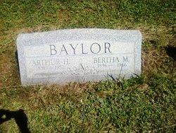 Bertha M <i>Gibson</i> Baylor