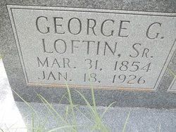 George Gilbert Loftin, Sr