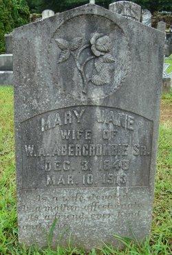Mary Jane <i>McKinney</i> Abercrombie