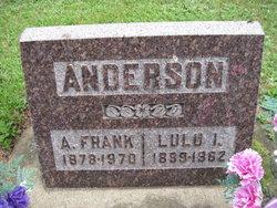 Lulu Irene <i>Stirewalt</i> Anderson