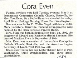 Cora Even